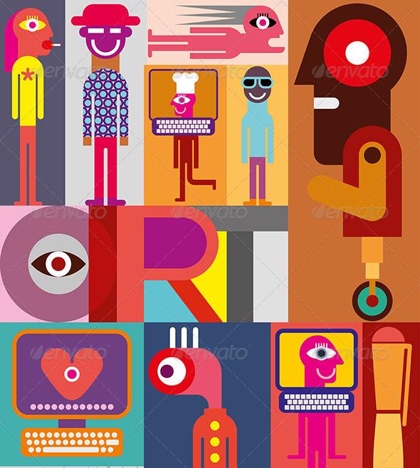 Art vector illustraion