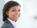 Portrait of a smiling business woman at work - PhotoDune Item for Sale