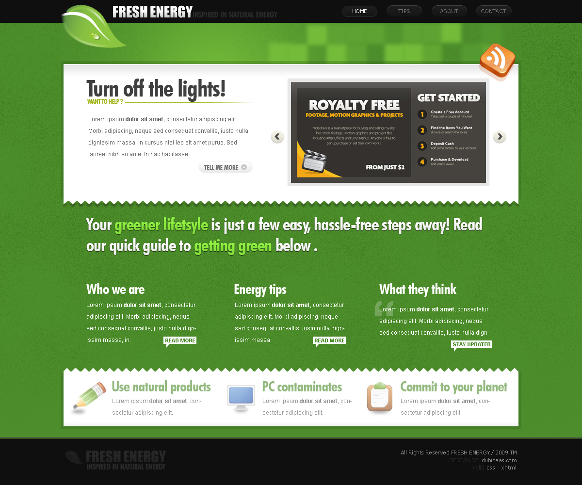 Free Download FreshEnergy Nulled Latest Version