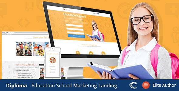 Diploma - Unbounce Landing Page Template - Unbounce Landing Pages Marketing