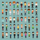 Group Cartoon People - GraphicRiver Item for Sale