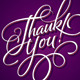 Thank You Hand Lettering - GraphicRiver Item for Sale