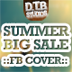 Summer Big Sale Facebook Cover - GraphicRiver Item for Sale