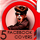 5 Multipurpose Facebook Covers - GraphicRiver Item for Sale