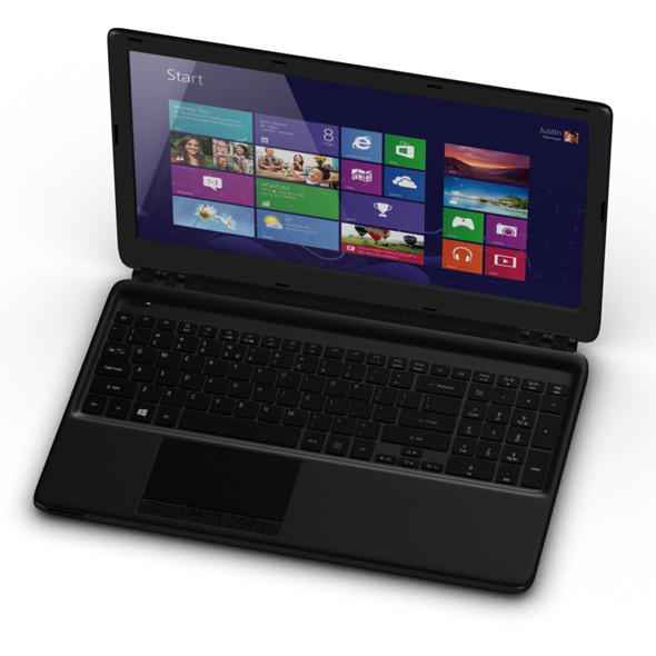 Acer Aspire 2 lap top computer - 3DOcean Item for Sale