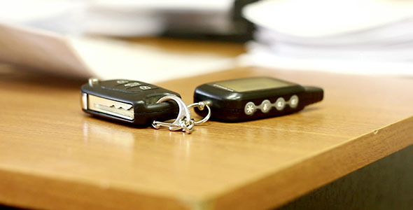 Car Key On Office Table By Mrsunshiner Videohive