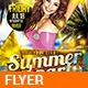 Summer Hot Party - v01 - GraphicRiver Item for Sale
