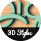 Big 3D Styles Vol .3 - GraphicRiver Item for Sale