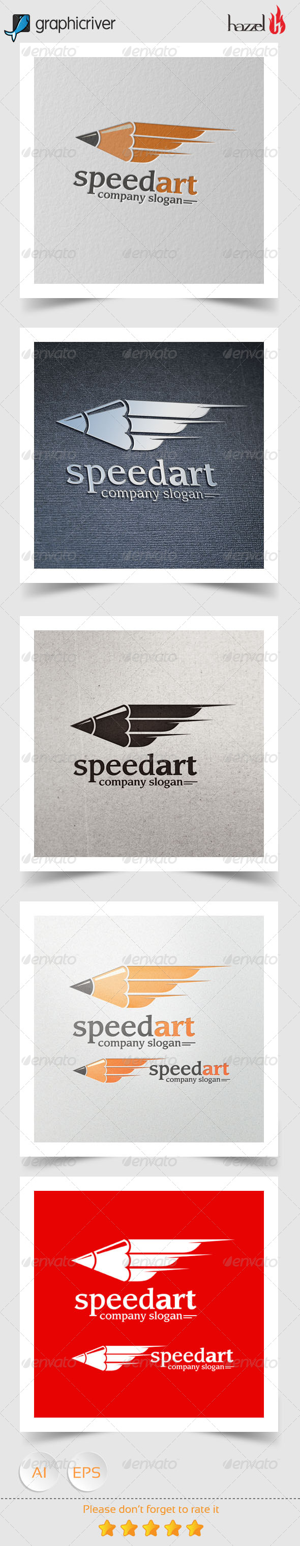 Speed Art Logo
