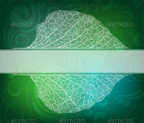 Nature Theme Banner - Backgrounds Decorative