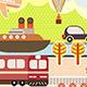 Landscape Tourism and Travel Illustration