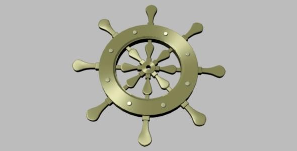 Ship Rudder - 3DOcean Item for Sale