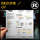 Clean & Modern Resume CV - GraphicRiver Item for Sale