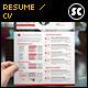 Clean & Modern Resume CV - GraphicRiver Item for Sale