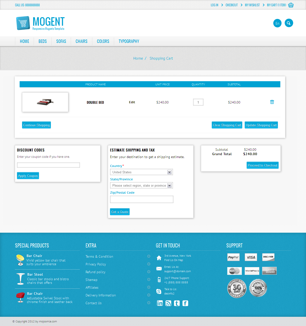 Mogent: Mobile ready Magento template by dasinfomedia | ThemeForest
