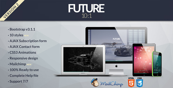 Future – 10 in 1 Coming Soon Template