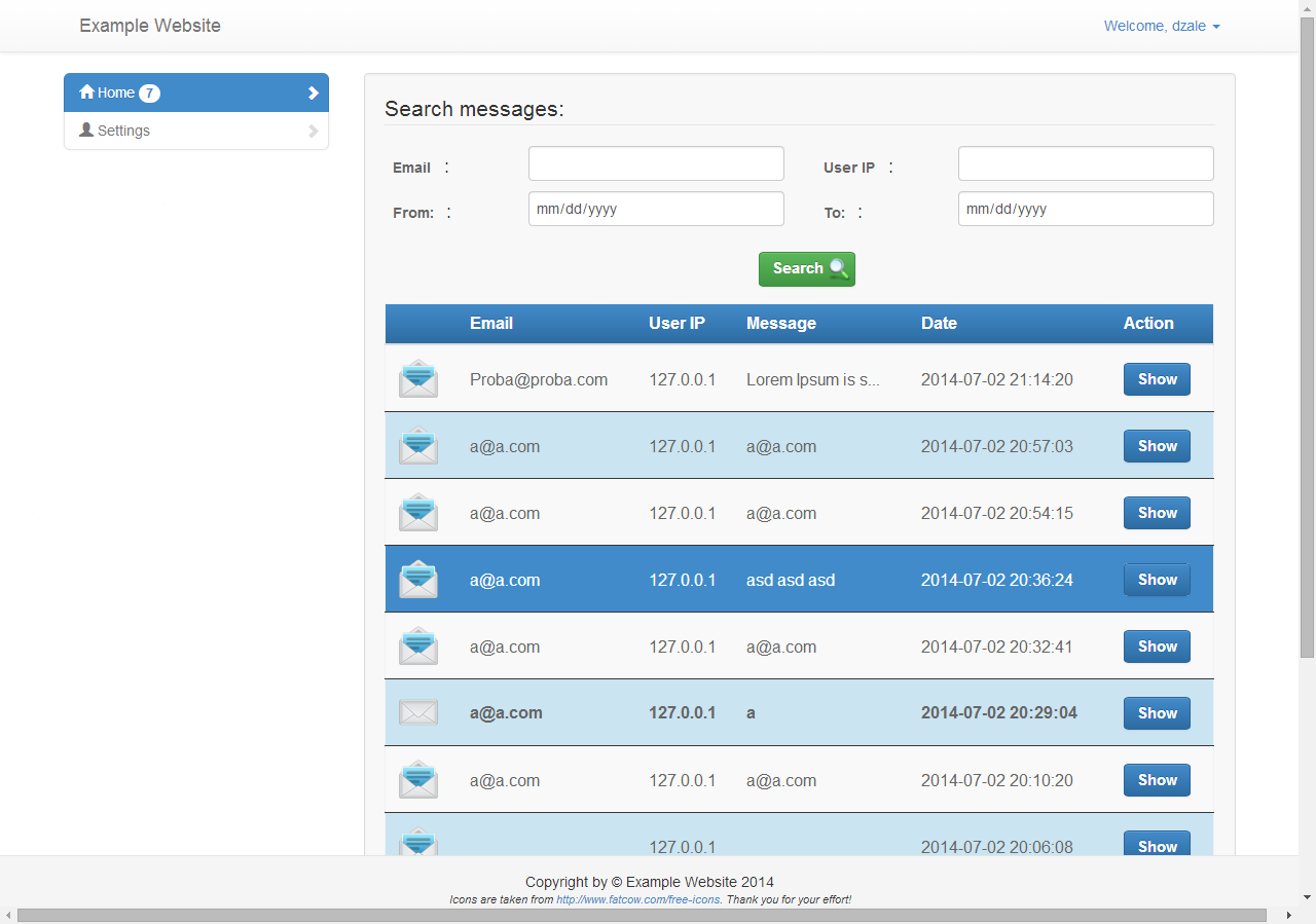 60sec contact form builder with admin panel by dzale codecanyon 60sec contact form builder with admin panel falaconquin