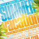 Summer Party Flyer Template 2 - GraphicRiver Item for Sale