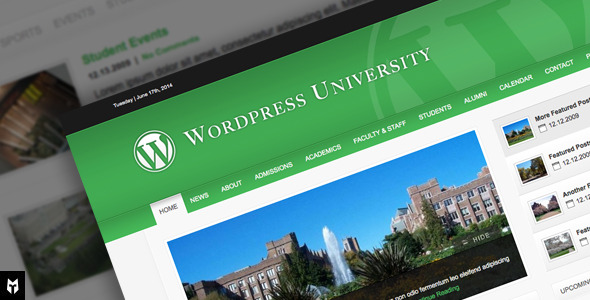 Free Download University: WordPress Theme For Colleges Nulled Latest Version