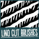Lino Cut Brushes - GraphicRiver Item for Sale