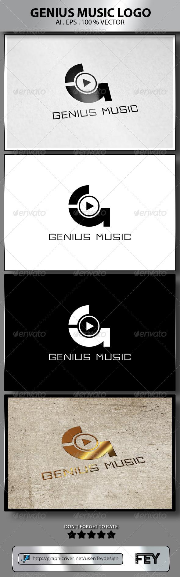 Genius Music Logo