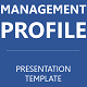 Management Profile Presentation Template - GraphicRiver Item for Sale