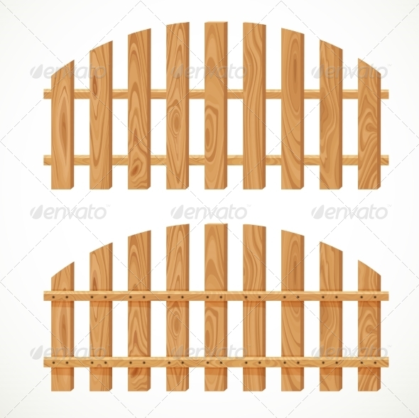 Wooden Fences - Buildings Objects