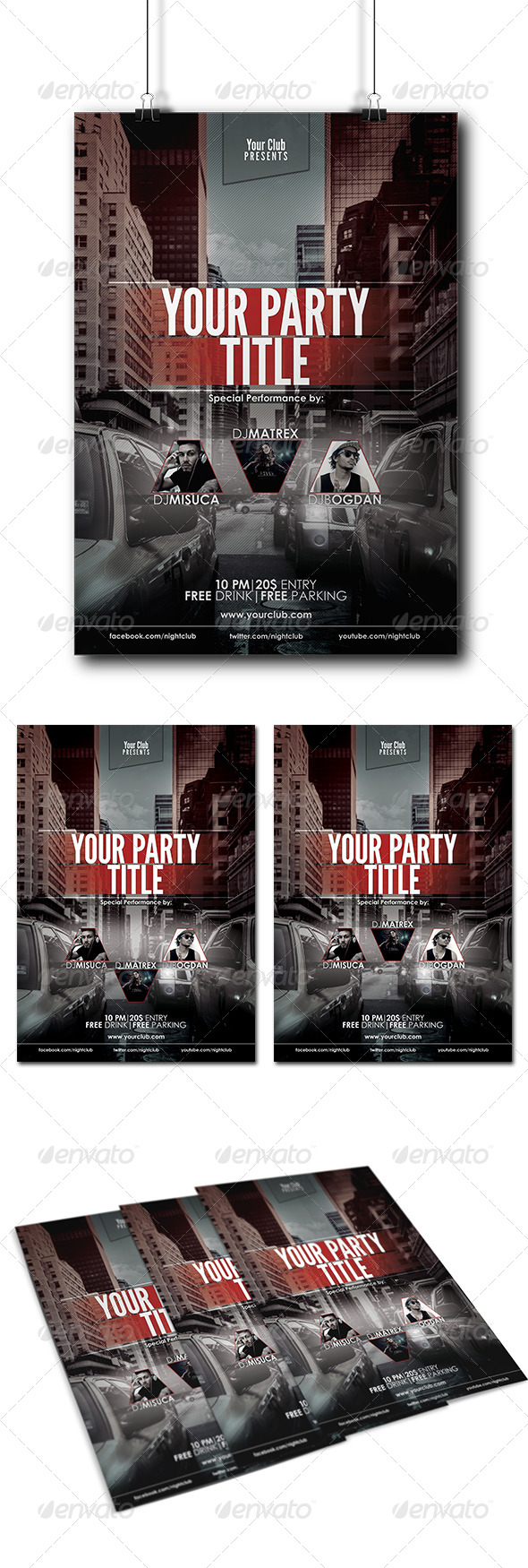 Event/Club Party Flyer/Poster - Clubs & Parties Events