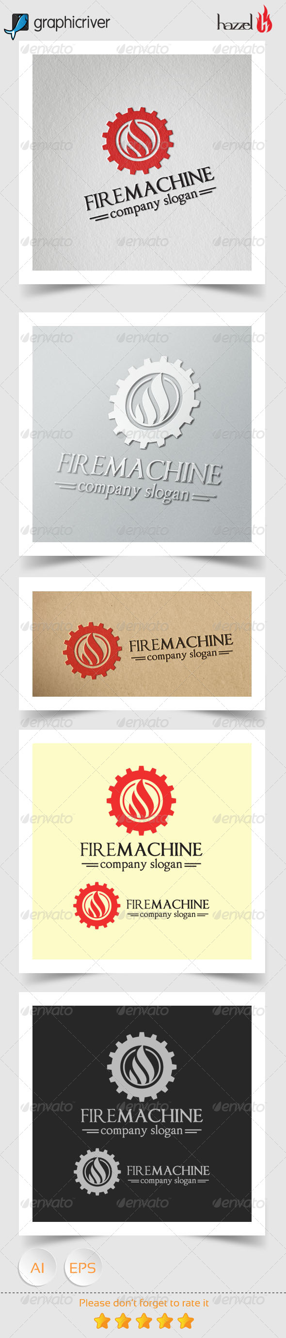 Fire Machine Logo