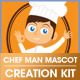 Chef Mascot Creation Kit - GraphicRiver Item for Sale