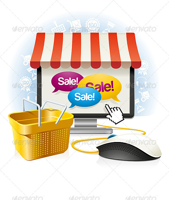 Internet Shop - Commercial / Shopping Conceptual
