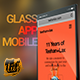 Glass App Mobile - VideoHive Item for Sale