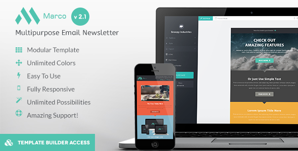 Marco – Modern Email HTML Template