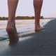 Girl Goes On Shore - VideoHive Item for Sale