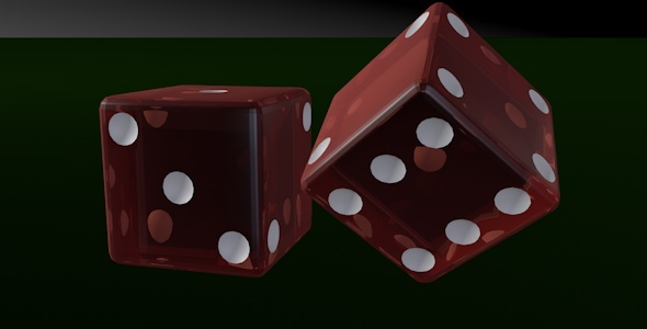 Casino Dice - 3DOcean Item for Sale