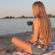 Girl On The Beach - VideoHive Item for Sale