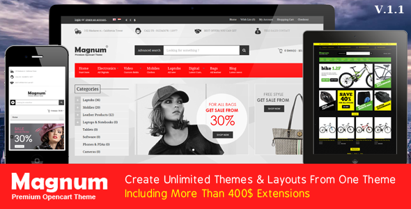 Magnum - Premium Opencart Theme - Fashion OpenCart