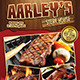 Steak House Menu Flyer - GraphicRiver Item for Sale