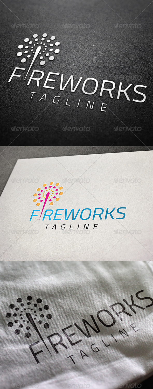 Fireworks Logo - Abstract Logo Templates