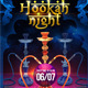 Hookah Night flyer template - GraphicRiver Item for Sale