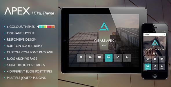 Apex Responsive HTML Theme
