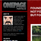 OnePage Portfolio Theme + 3 color