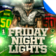 Friday Night Lights Football Flyer Template
