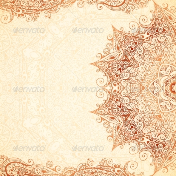 vintage hand-drawn backgroundart_of_sun | graphicriver, Powerpoint templates