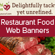 Food Restaurant Web Banners - GraphicRiver Item for Sale
