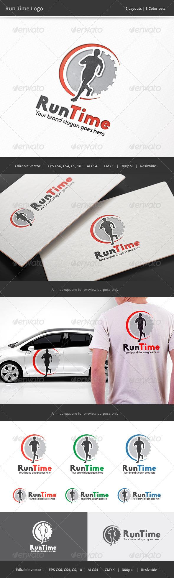 Run Time Fitness Logo