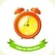 Education Icon Alarm Clock