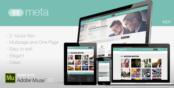Meta | Multi-Purpose Template - Corporate Muse Templates