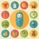 Baby Goods Icon Set