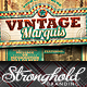 Download Vintage Marquis Sign Flyer Template from GraphicRiver